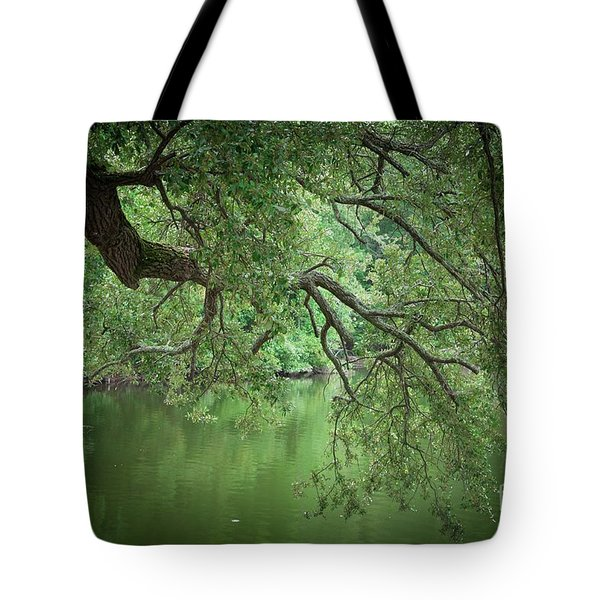 Planted By The Water Tote Bag