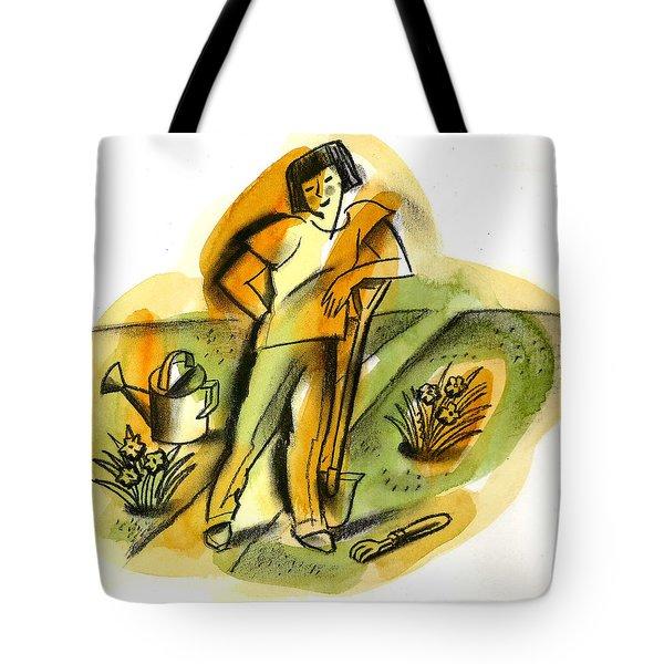 Planting Tote Bag