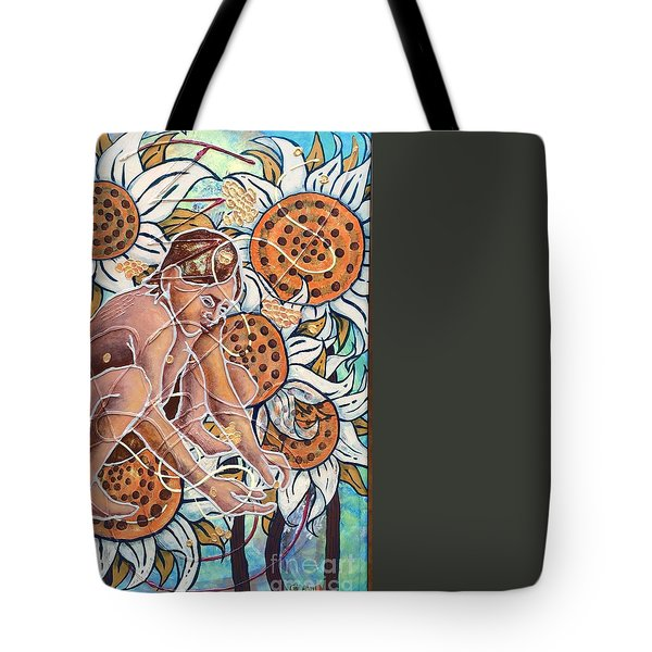 Planting The Seeds Tote Bag