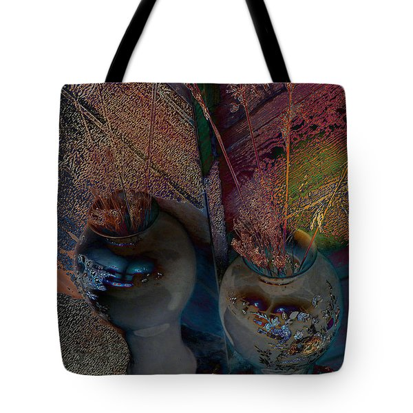 Plants In The Mirror Tote Bag