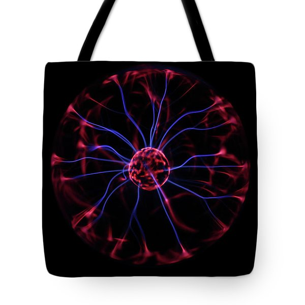 Tote Bag featuring the photograph Plasma Ball IIi by Richard Stephen