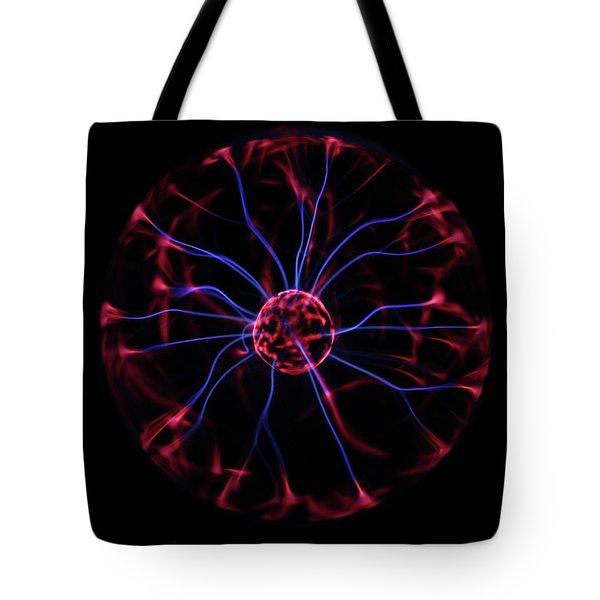 Plasma Ball IIi Tote Bag by Richard Stephen