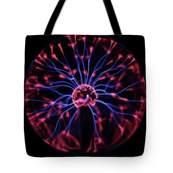 Tote Bag featuring the photograph Plasma Ball by Richard Stephen