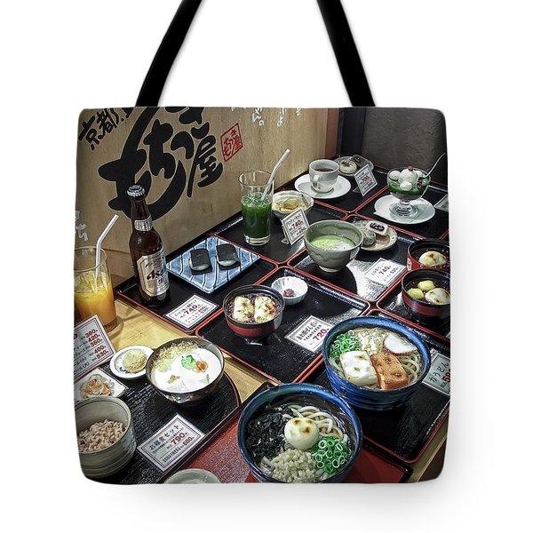 Plastic Food Display - Kyoto Japan Tote Bag