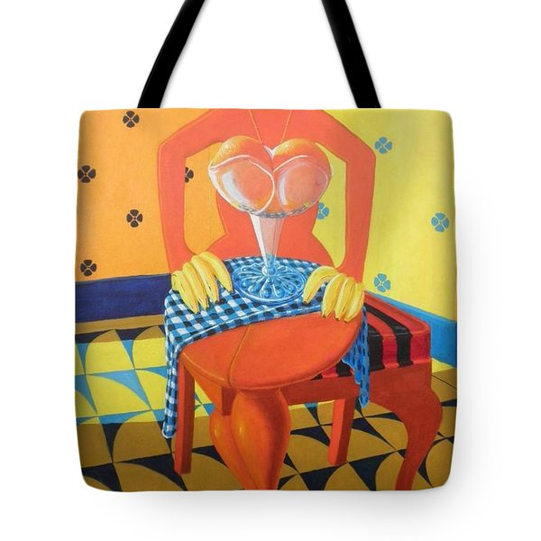 Plausible Arrangements In Anthropomorphic Possibilities Tote Bag