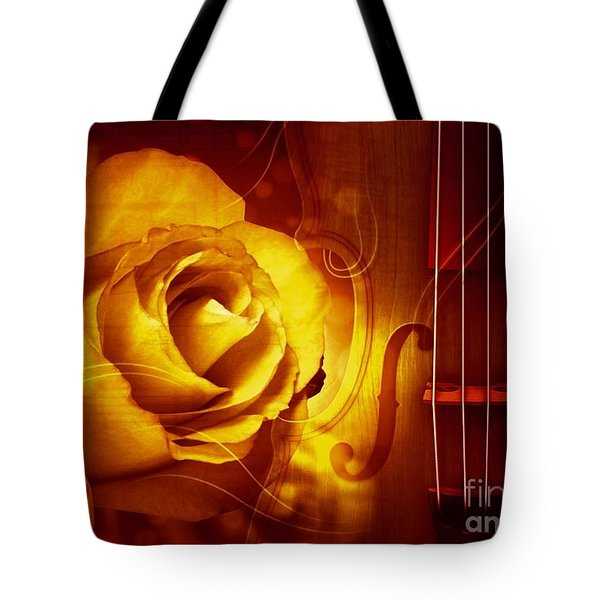 Play A Love Song Tote Bag