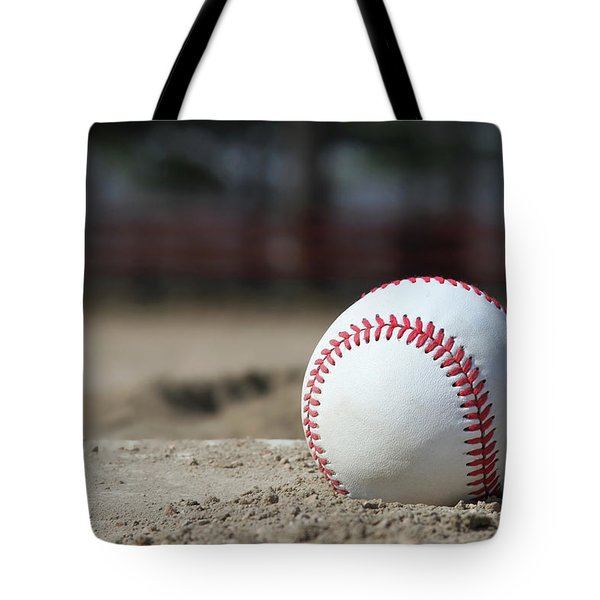 Tote Bag featuring the photograph Play Ball by Jackson Pearson