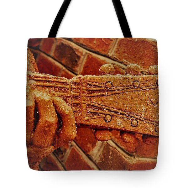Tote Bag featuring the photograph Play It by Randy Sylvia