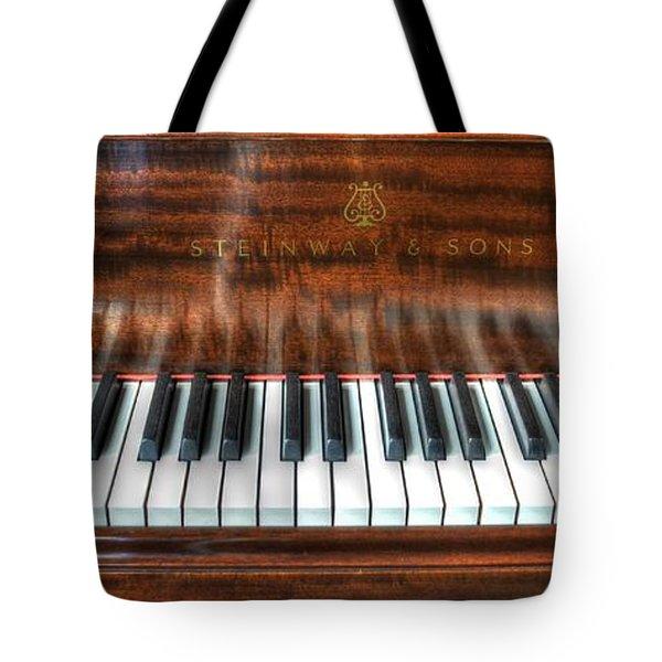Play Me Tote Bag by David Morefield