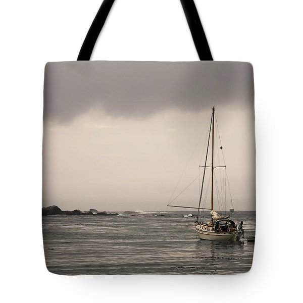 Play Misty For Me Tote Bag by Donna Blackhall