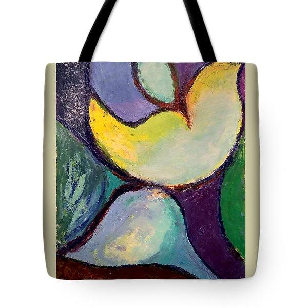 Play Of Light Tote Bag