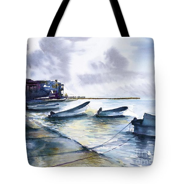 Playa Del Carmen Tote Bag
