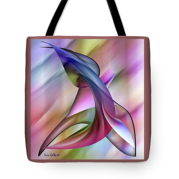 Playful Abstract  Tote Bag