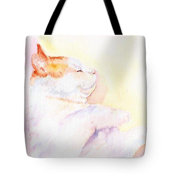 Playful Cat Iv Tote Bag