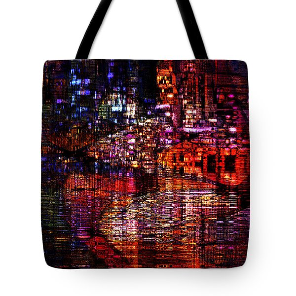 Playful Evening Tote Bag