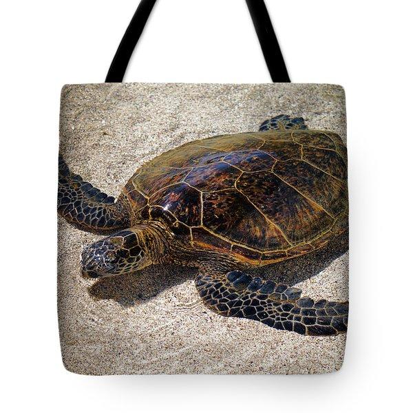 Playful Honu Tote Bag