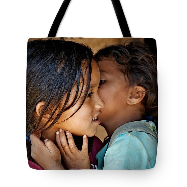 Playful Secrets Tote Bag