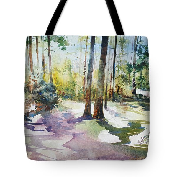 Playful Shadows Tote Bag
