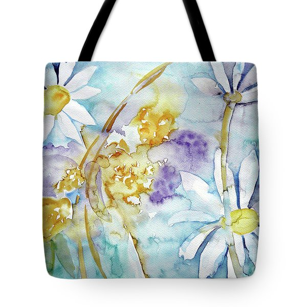 Tote Bag featuring the painting Playfulness by Jasna Dragun