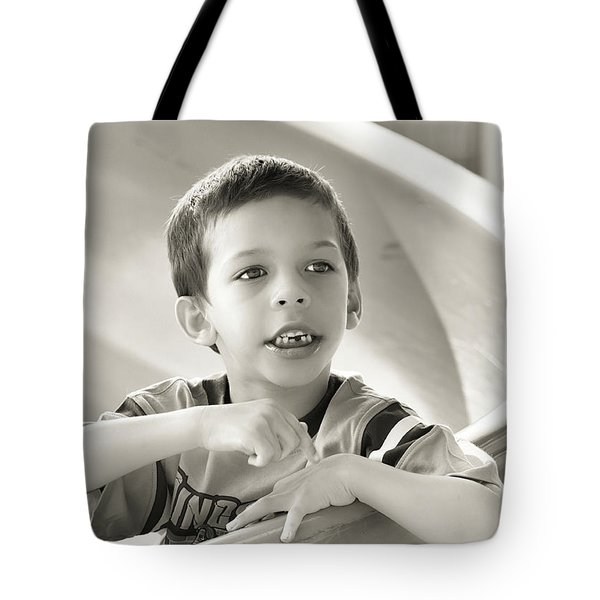 Playground Physics Tote Bag by Bob Orsillo