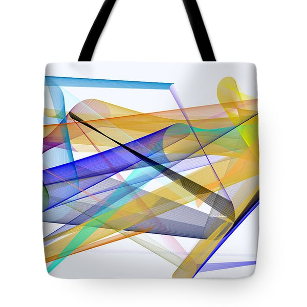Tote Bag featuring the digital art Playground by Rafael Salazar
