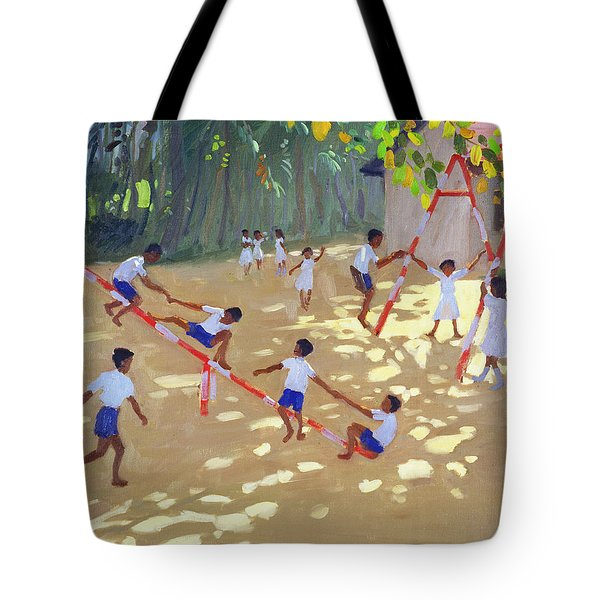 Playground Sri Lanka Tote Bag by Andrew Macara