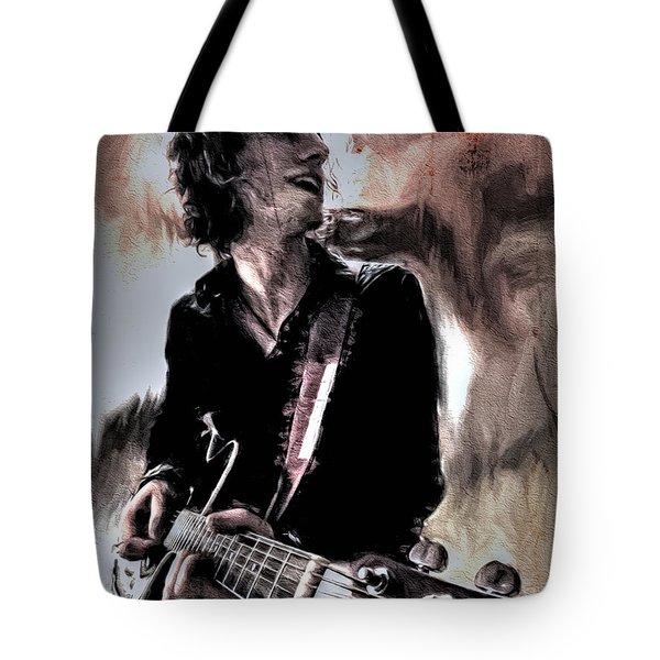 Playin' Grunge Tote Bag