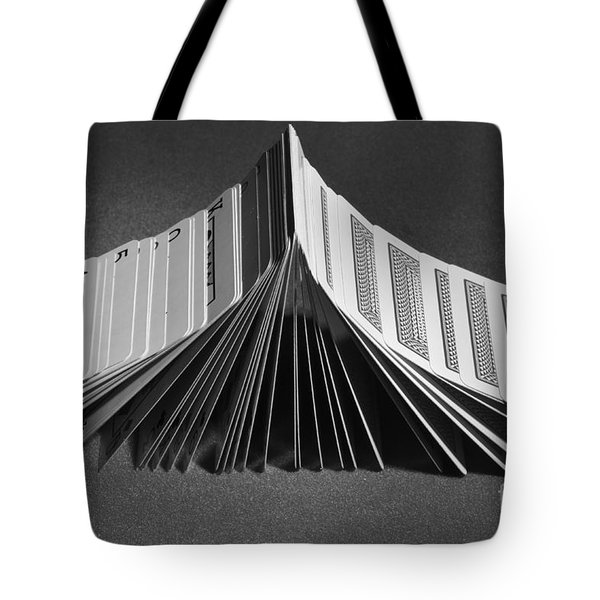 Playing Cards Domino Tote Bag