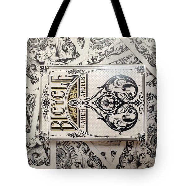 Playing Cards Tote Bag by Sheila Mcdonald