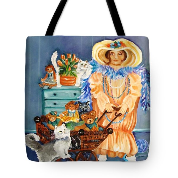 Playing Dress Up Tote Bag