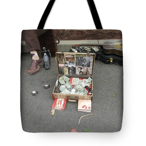 Playing For Dinner Tote Bag