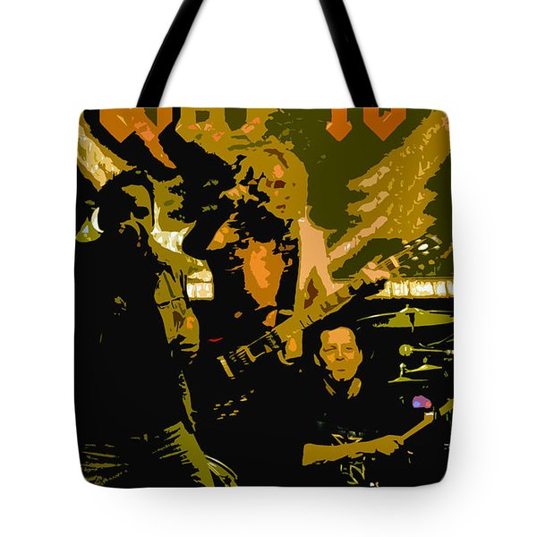 Playing Hard Tote Bag by David Lee Thompson