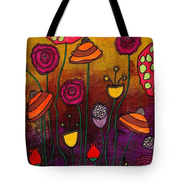 Playing Make Believe Tote Bag