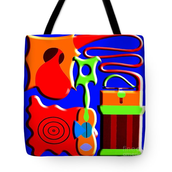 Playing Music Tote Bag by Patrick J Murphy