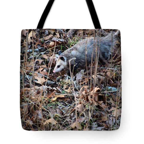 Tote Bag featuring the photograph Playing Possum by Mark McReynolds