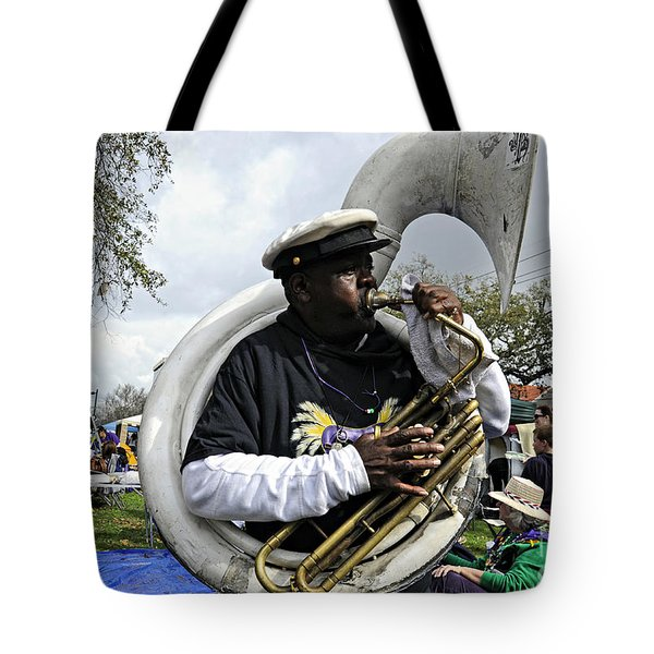 Playing To The Crowd Tote Bag
