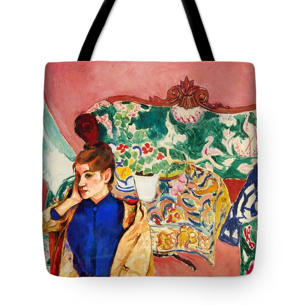 Playing With Henri Matisse Tote Bag