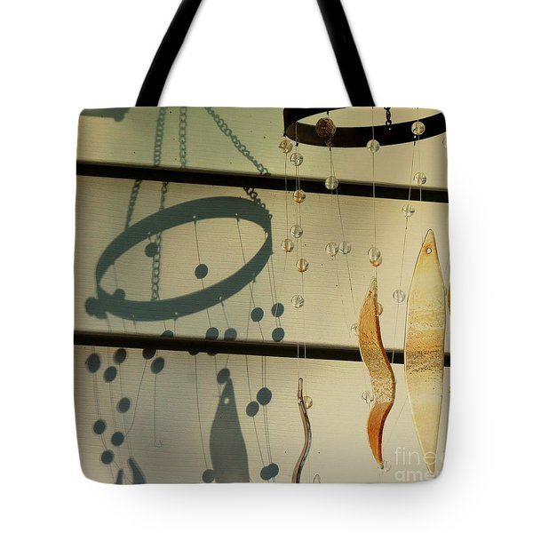 Playing With Shadows And Sunlight Lets Dance -loganville Georgia Tote Bag