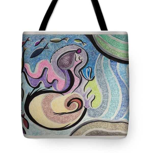 Playing With The Seal Tote Bag