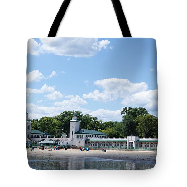 Playland Beach Boardwalk Tote Bag