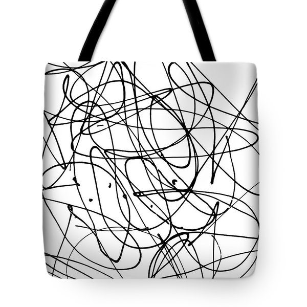 Playmates - Abstract Tote Bag