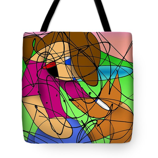 Playmates Tote Bag