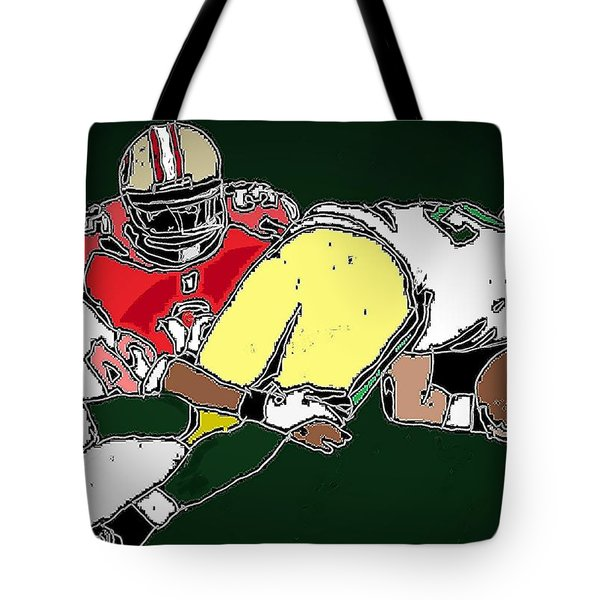 Playoffs 1 Tote Bag by Andrew Drozdowicz