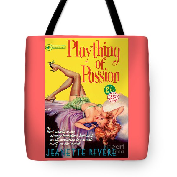 Tote Bag featuring the painting Plaything Of Passion by Reginald Heade