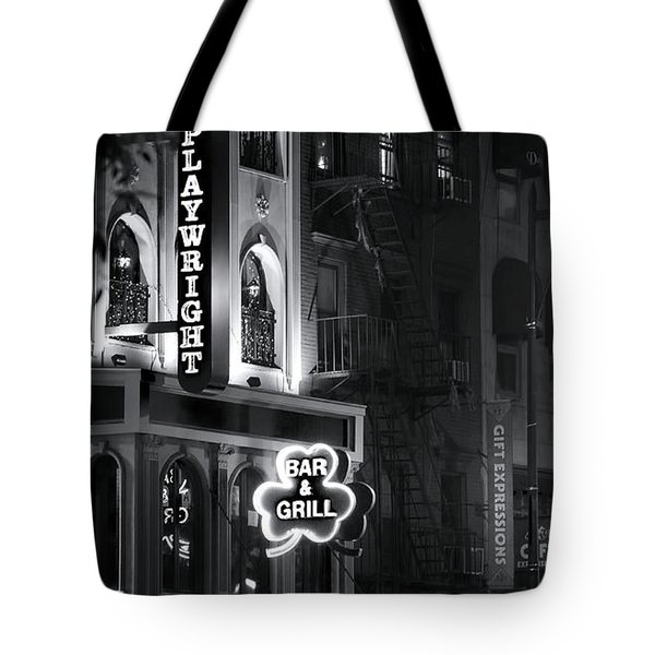 Playwright Celtic Pub Tote Bag by Mark Andrew Thomas