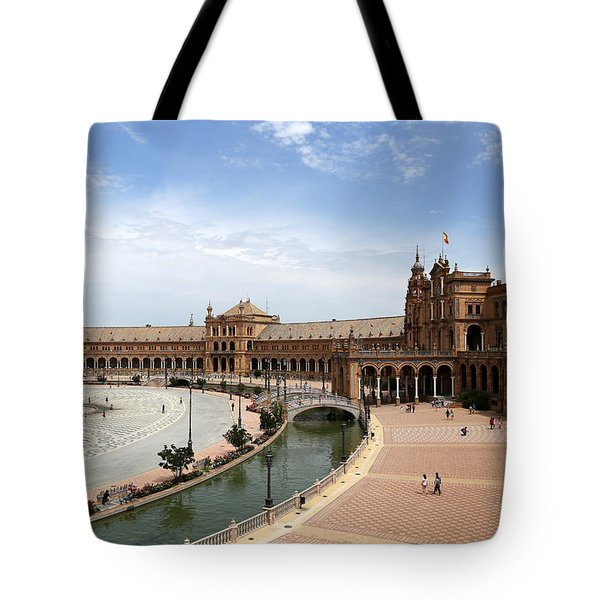 Tote Bag featuring the photograph Plaza De Espana 4 by Andrew Fare