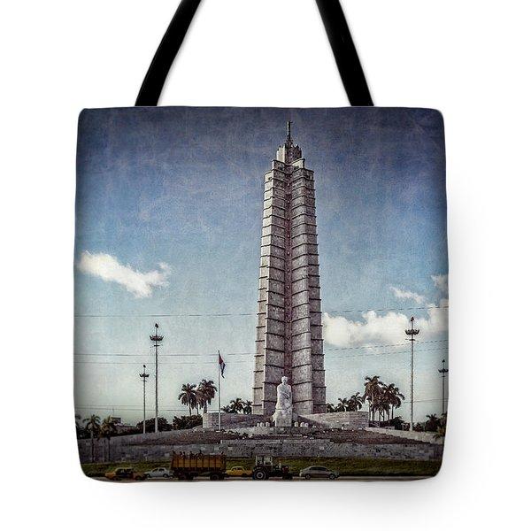 Plaza De La Revolucion Tote Bag