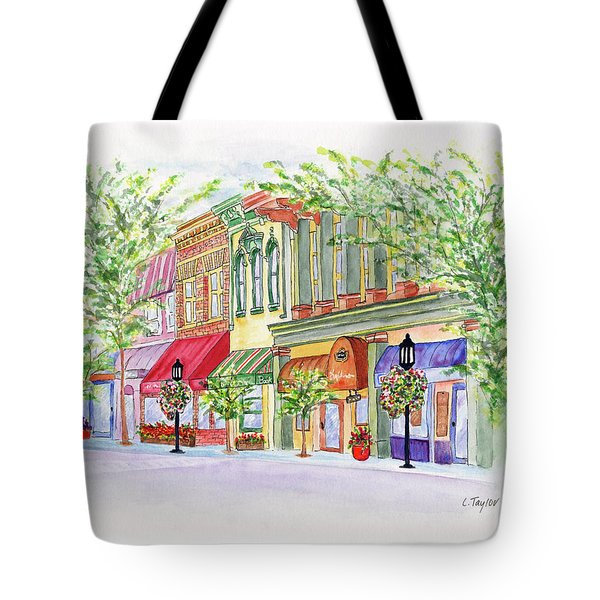 Plaza Shops Tote Bag