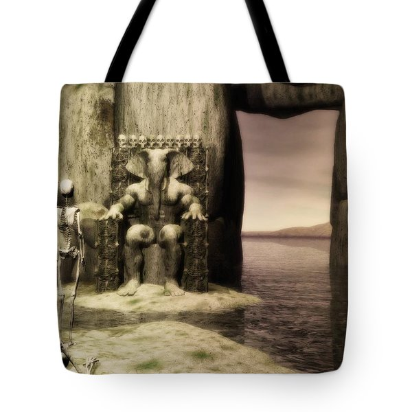 Plea Of The Penitent To The Lord Of Perdition Tote Bag