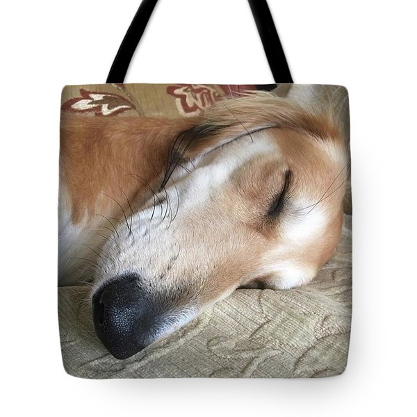 Please Be Quiet. Saluki Tote Bag